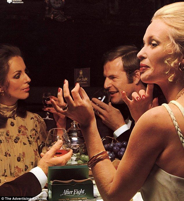 70s Dinner Party Ideas Part - 20: After Eight. (JWT)
