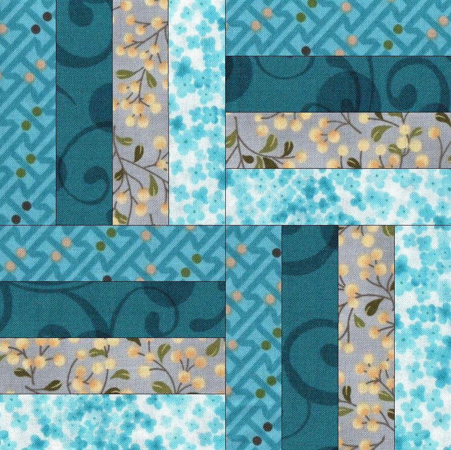Reflections Blue PreCut GROW Quilt Kit #tischsetnähen