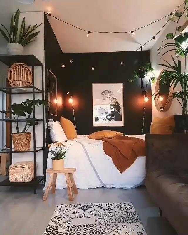Photo of Corner bedroom decoration inspiration