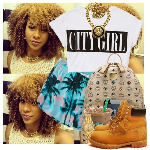 City Girl., created by theqveen on Polyvore