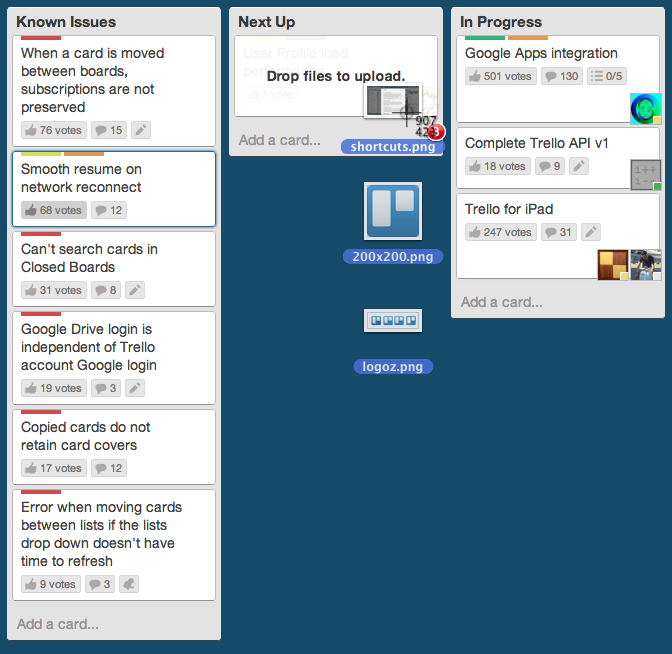 Organize anything, together. Blog tips, Trello