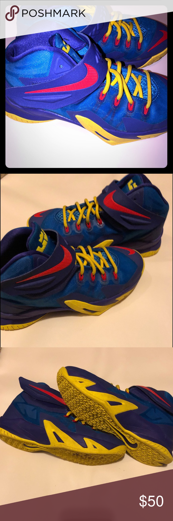 Lebron James shoes 4.5Y or Women s size- 6.5 Excellent condition Nike Shoes  Sneakers 3a87f67c8