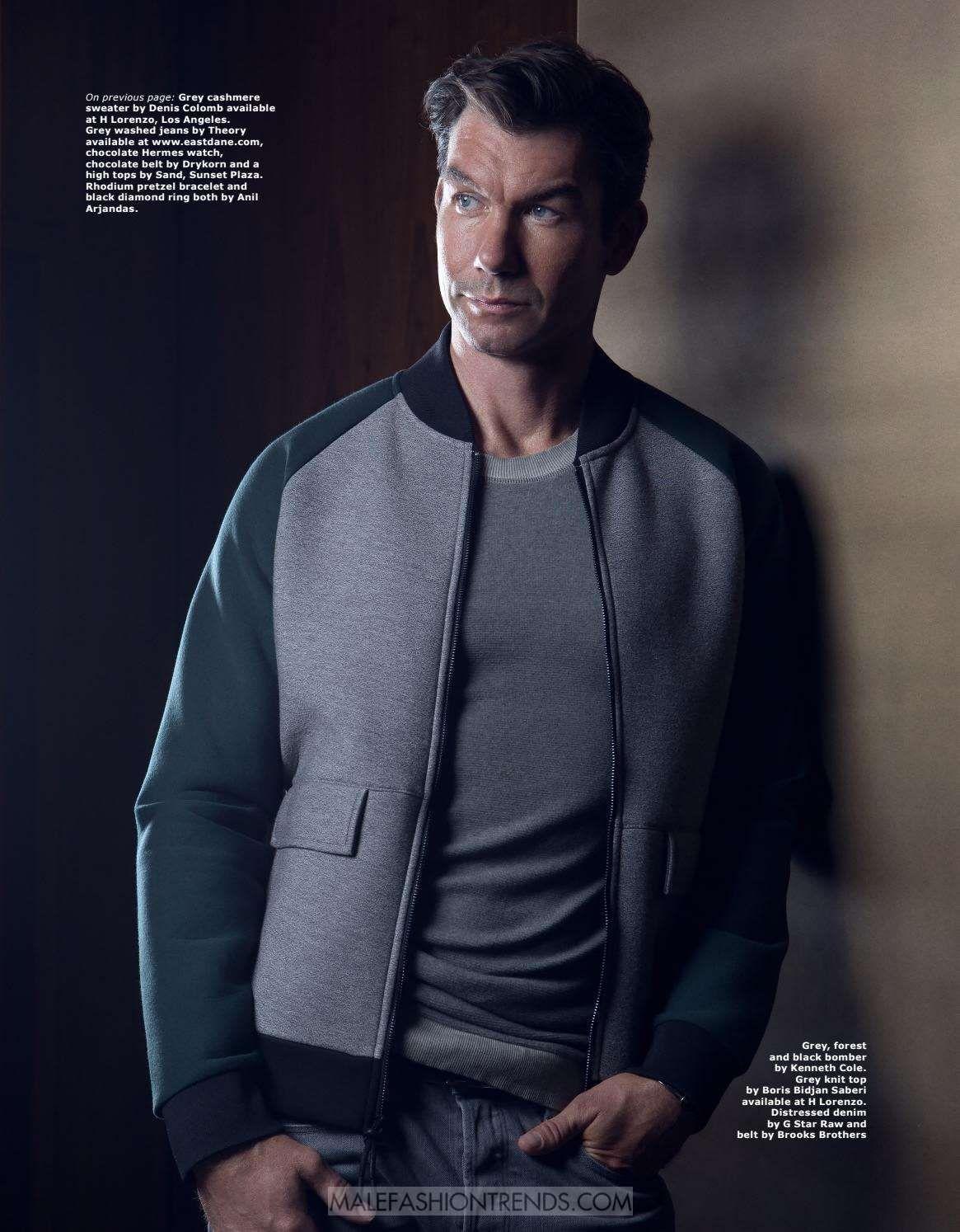 Jerry O'Connell para LA PALME Magazine Fall Issue