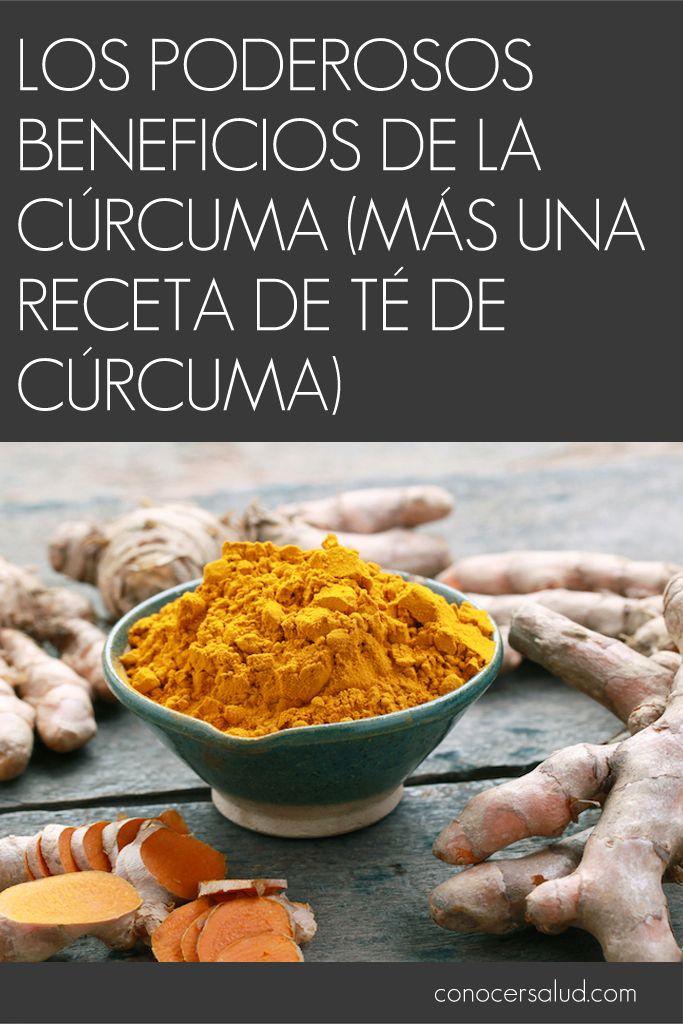 Los Poderosos Beneficios De La Cúrcuma Más Una Receta De Té De Cúrcuma Salud Healthy Smoothies Food Healthy Recipes