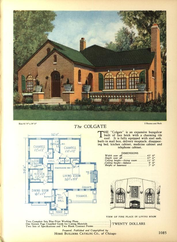 Home Builders Catalog: plans of all types of sm    | classic