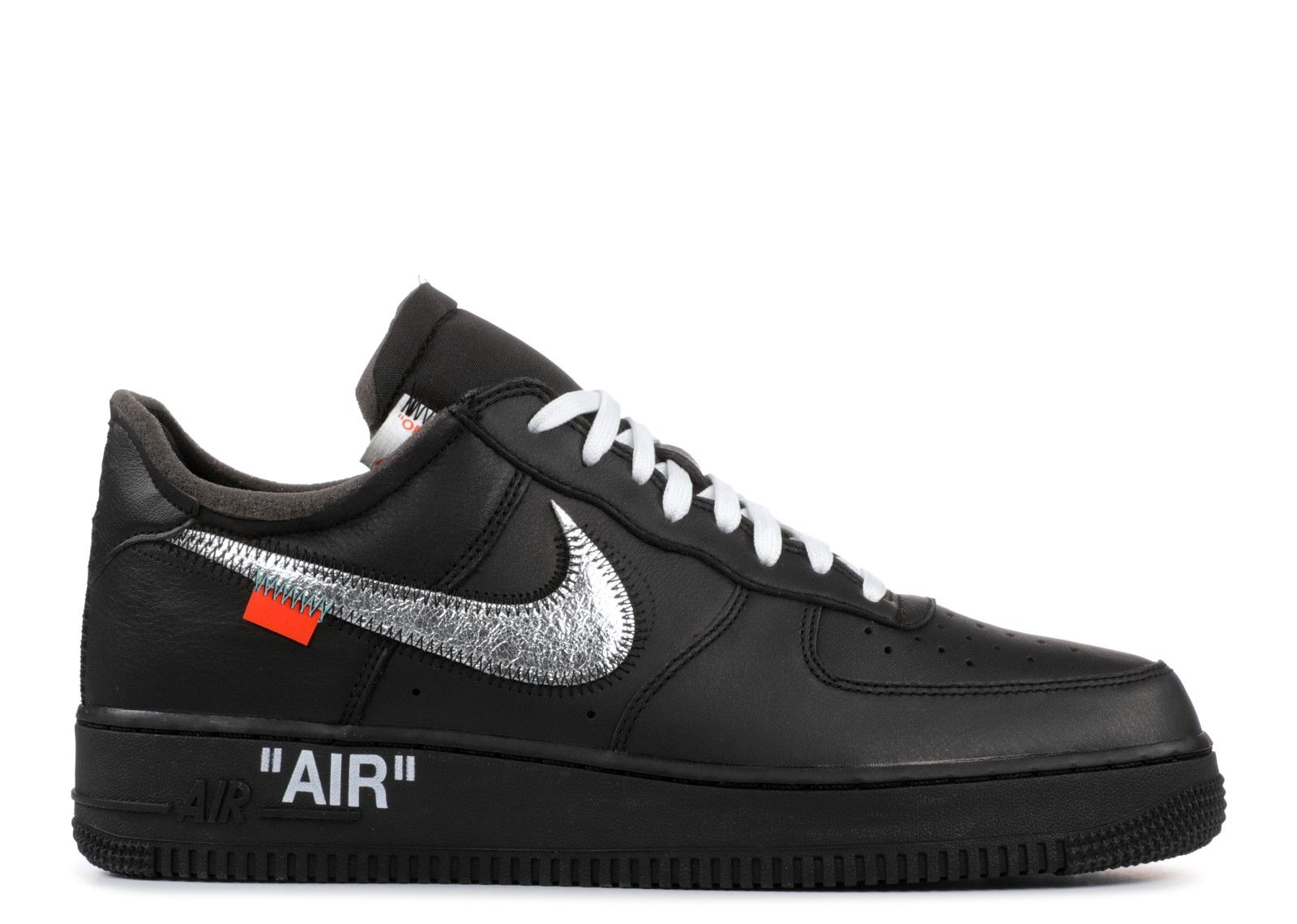 Moma X Virgil Nike Air Force One Low '07 Black Copuon, Price