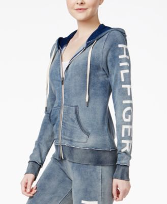 TOMMY HILFIGER Tommy Hilfiger Sport Cotton Logo Hoodie, A Macy'S Exclusive. #tommyhilfiger #cloth # jackets