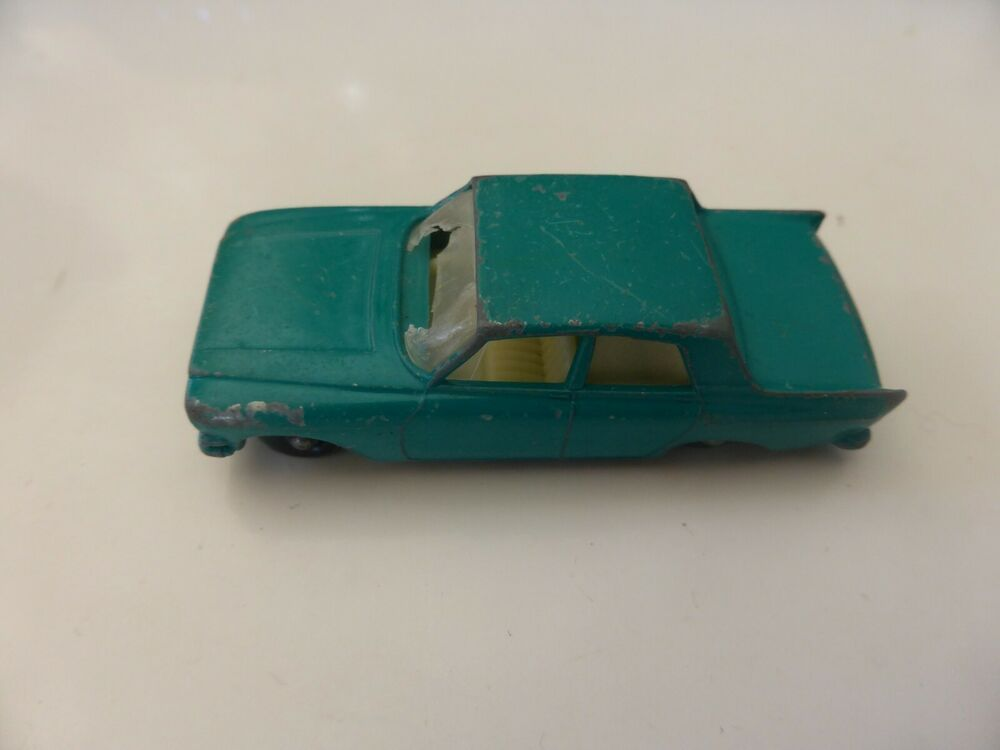 Details About Matchbox Lesney 33 B Ford Zephyr Mk Iii Green Empty Repro D Style Box Ford Zephyr Matchbox Ford