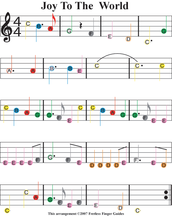Easy Guitar Songs Color Coded Christmas Sheet Music Violin Sheet Music Piano Music Guitar Sheet Music