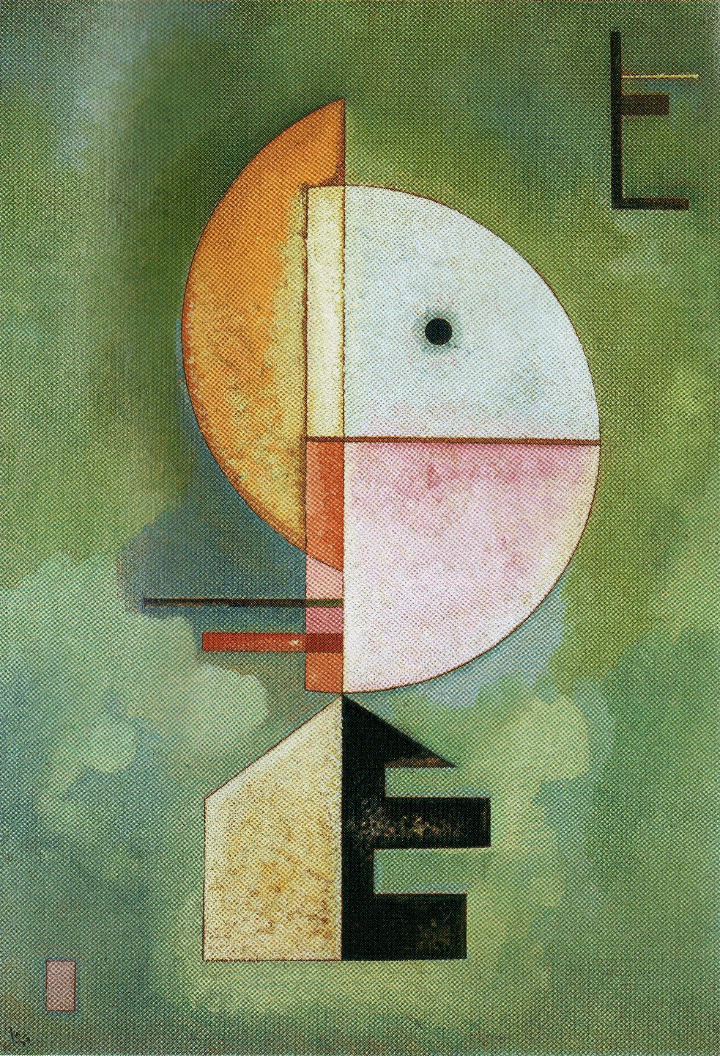 Kandinsky - Hacia arriba   GRANDES PINTORES   Pinterest   Abstracto ...