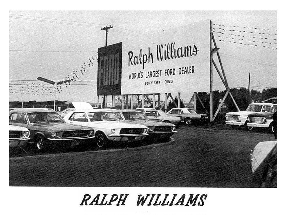 1967 Ralph Williams Ford Dealership Encino California Ford