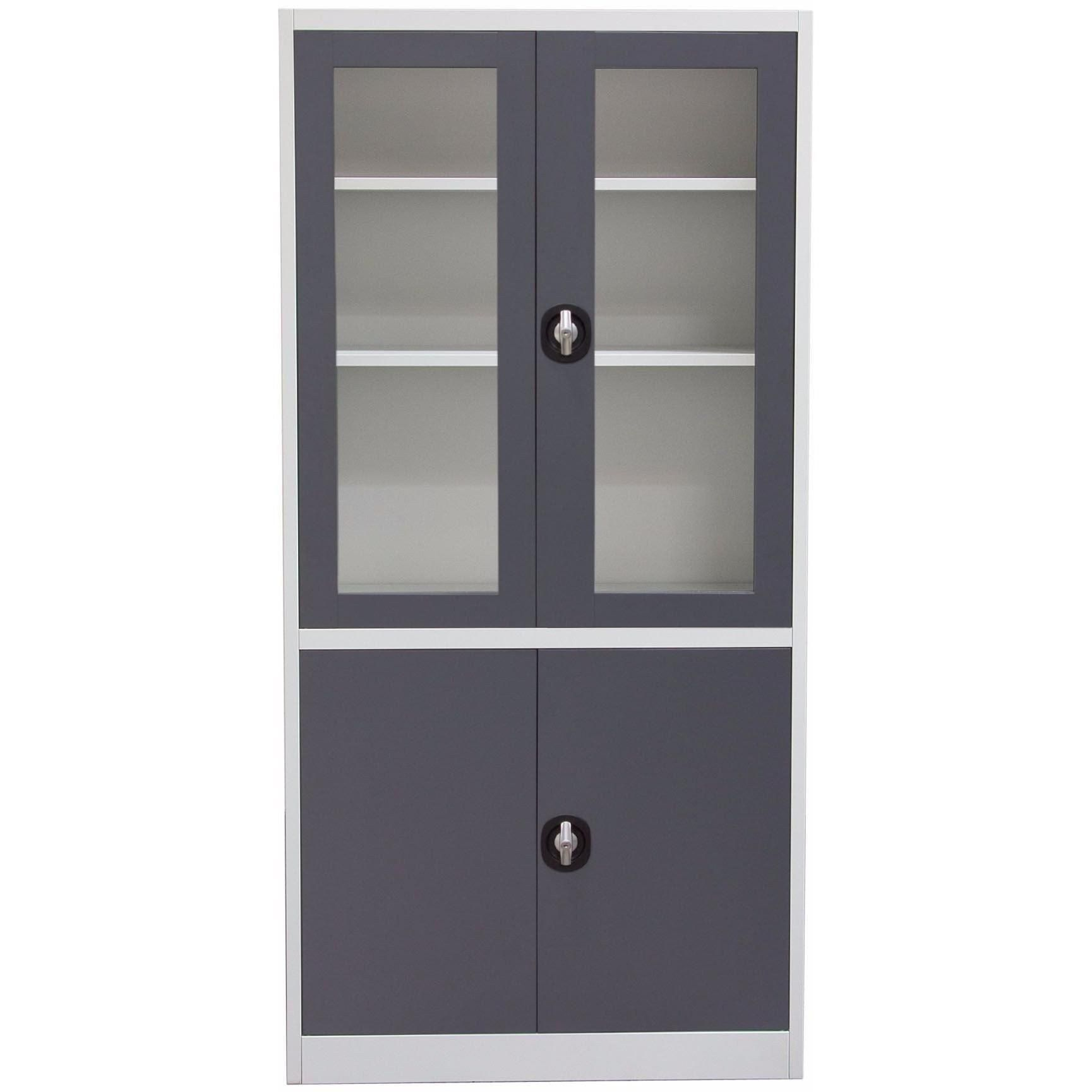Tall Bookcase With Glass Doors Inspirational 4 Door 5 Shelf Bookcase With Tempered Glass Door Front Key In 2020 5 Shelf Bookcase Tempered Glass Door Glass Door
