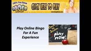 The web delivers a large selection of options to accessibility casino bingo games online…