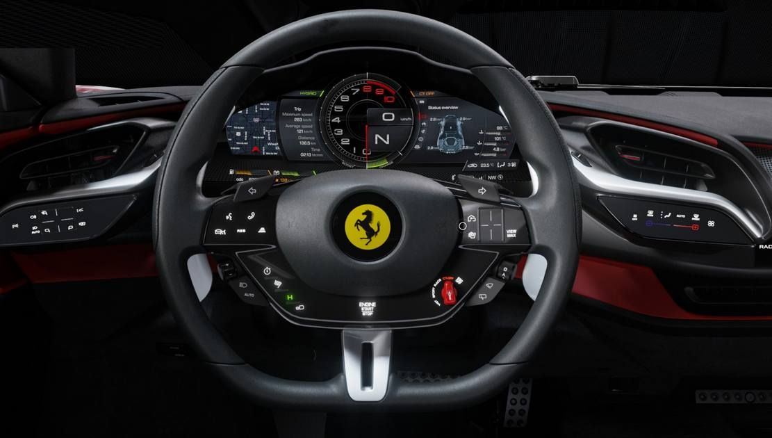 New Ferrari Sf90 Stradale New Ferrari Ferrari Hybrid Sports Car