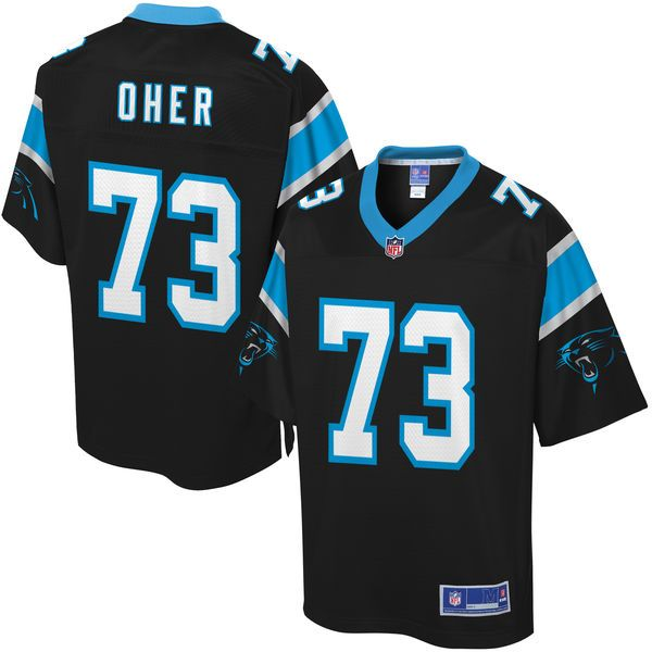 Men's Carolina Panthers Michael Oher NFL Pro Line Team Color Jersey - $99.99