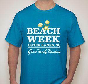 Beach Week T Shirt Designs