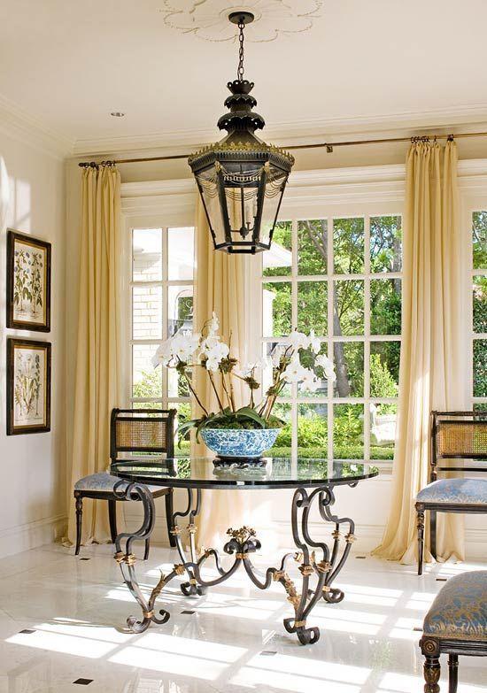 Elegant sunroom in Fort Worth by Joseph Minton.