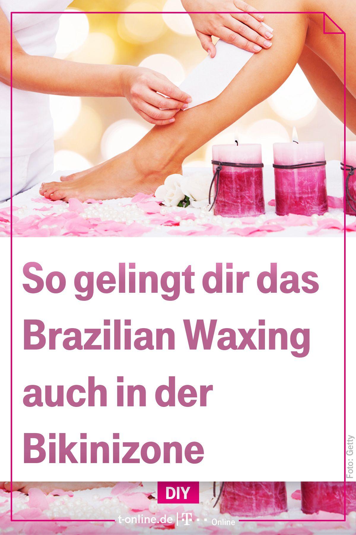 Brazilian Waxing Wird Auch In Deutschland Immer Beliebter Wir Zeigen Wie Die Haarentfernung Auf Brasilianische Art Gelin Brazilian Waxing Enthaarung Enthaaren