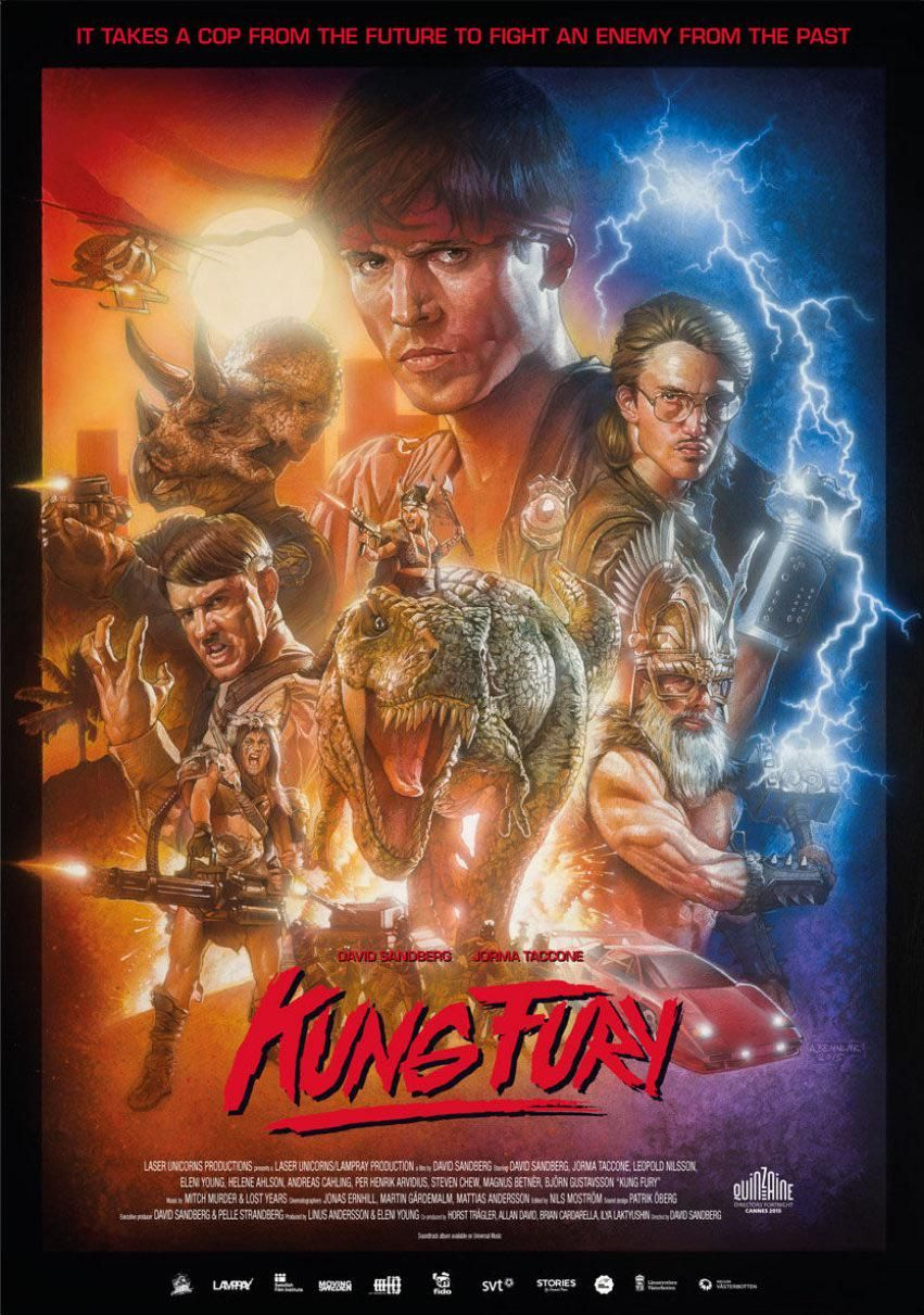 Kung Fury 2015 By Andreas Bennwik 600x900 Kung Fury Japon Ideas Del Dia De San Valentin