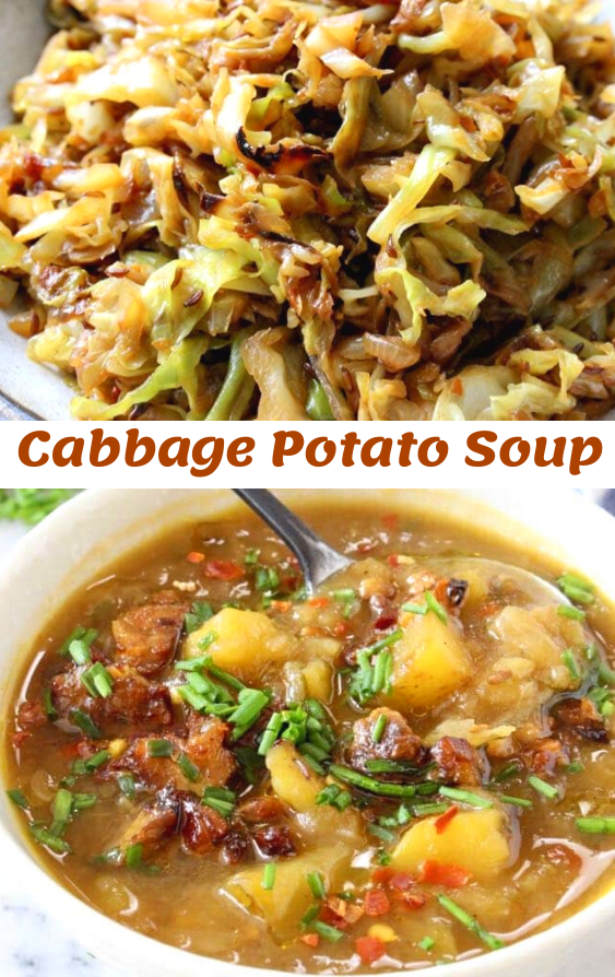 Simple Cabbage Potato Soup