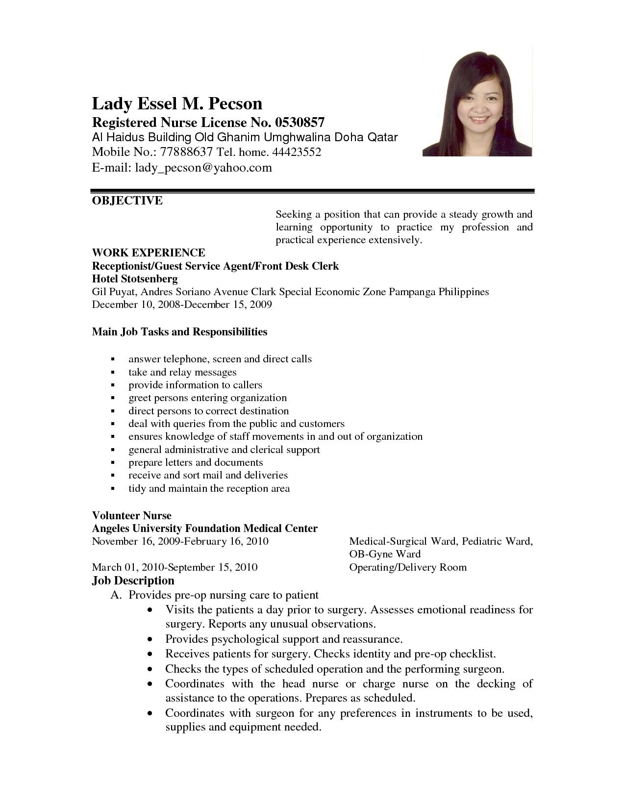 Download New Examples Of Job Application Letters for