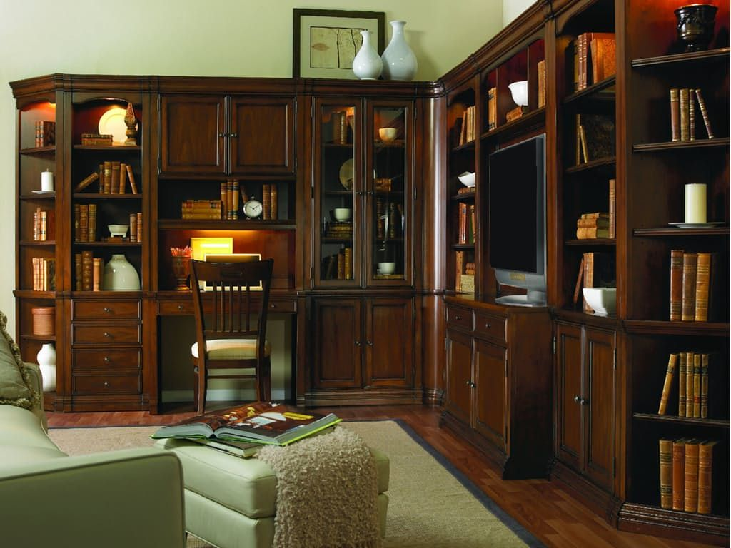 The Cherry Creek Collection is constructed of hardwood solids and cherry veneers in a clear medium brown finish with very light distressing.