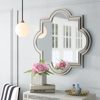 Daisi Champagne Top Wall Accent Mirror Dining Room Accent Wall Home Decor Accent Wall