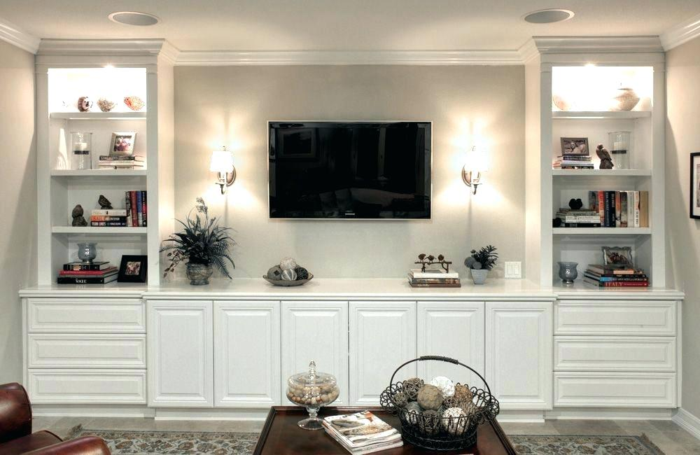 Living Room Cabinet Ideas 15 Living Area Storage Ideas That Reduce Mess Or Conceal It Wall Tv Unit Design Tv Room Design Living Room Tv Unit Designs The Two Pieces