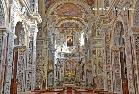 A Palermo c'è pure questo Chiesa del Gesù di Casa Professa dei Padri Gesuiti - Panormvs 28 secoli di storia - Google+