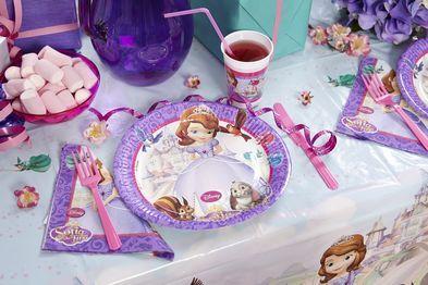Tavolo Compleanno ~ Festa di compleanno principessa sofia la magia di una festa