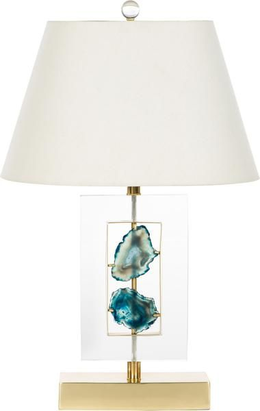 Agate Azure Table Lamp - avail in 2 shade options! [IM-64432] *in stock!