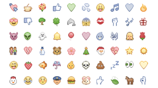 Emojis Emoticon, Symbols emoticons, Facebook emoticons