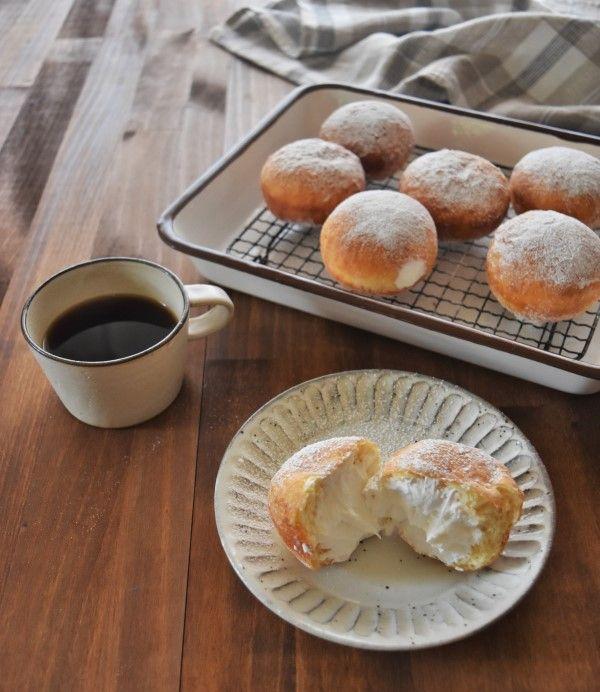 30分でできる魔法のパン ふわもち エンゼルクリームドーナツ 画像あり 食べ物のアイデア レシピ 料理 レシピ