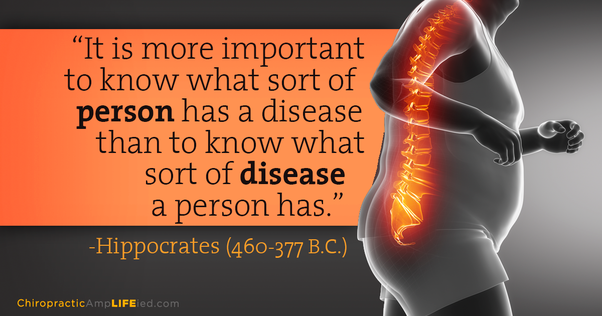 Chiropractors focus on correcting the cause of your