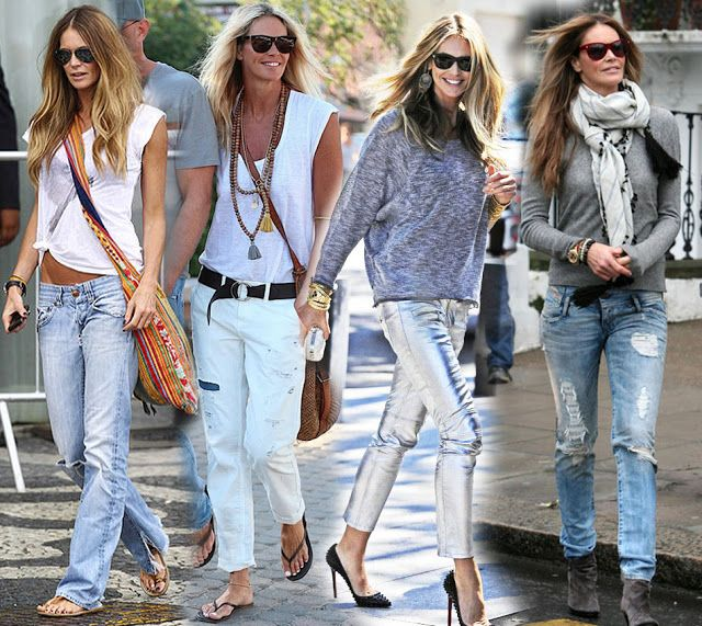 Modern Bohemian Lifestyle in perfection - Elle McPherson