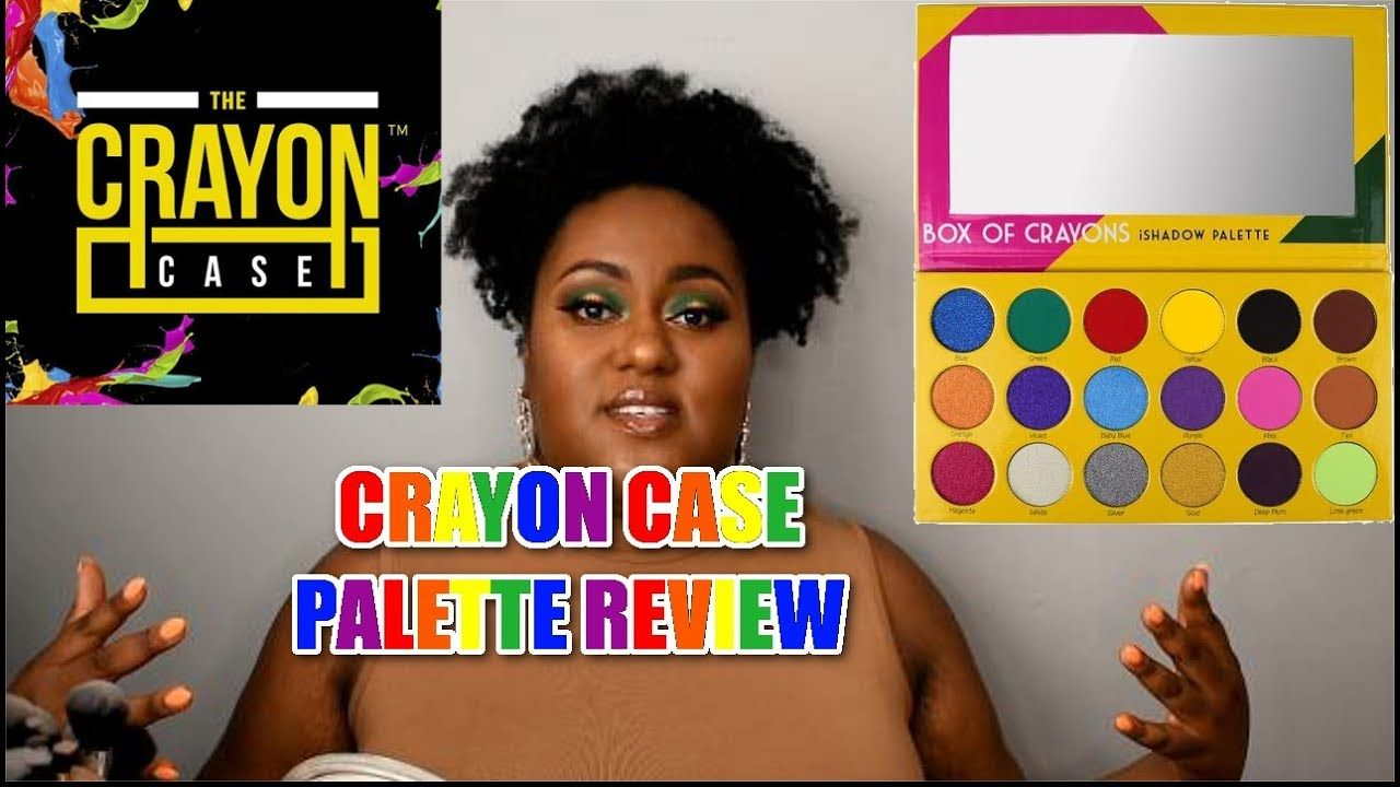 CRAYON CASE BOX OF CRAYONS PALETTE [REVIEW] + [DEMO