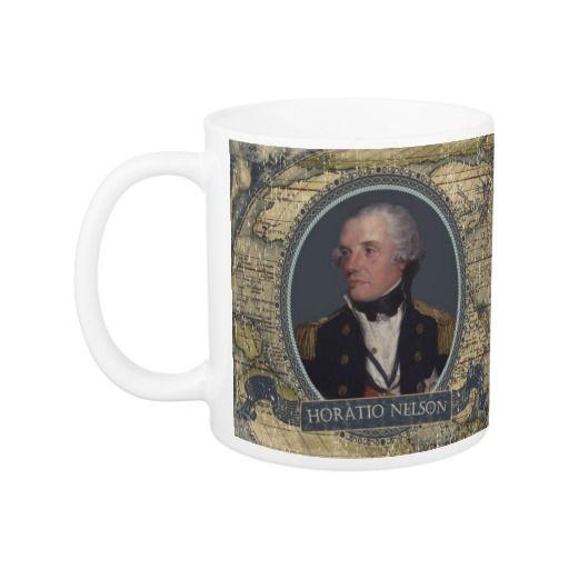 Horatio Nelson Historical Mug