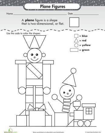 shape dimensions shapes 2d 3d pattern blocks 1st grade worksheets teaching shapes. Black Bedroom Furniture Sets. Home Design Ideas