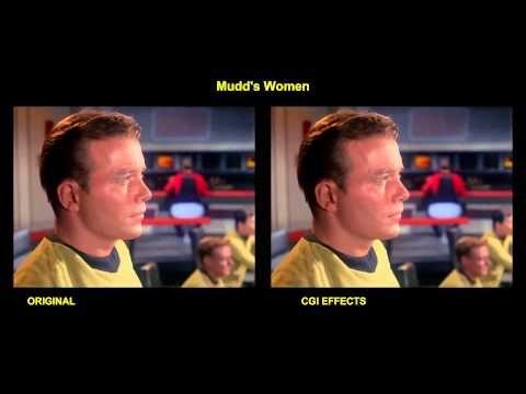 Star Trek - Mudd's Women - visual effects comparison - YouTube