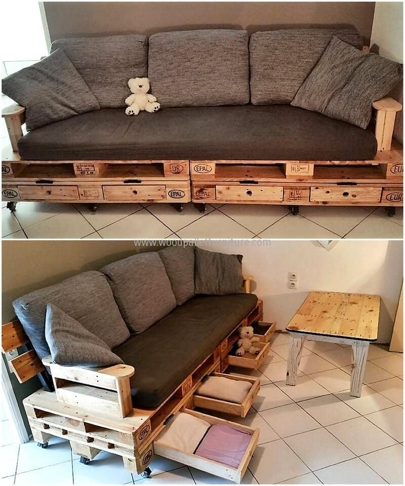 Creative And Cheap Wood Pallets Repurposing Ideas Pallet Couch