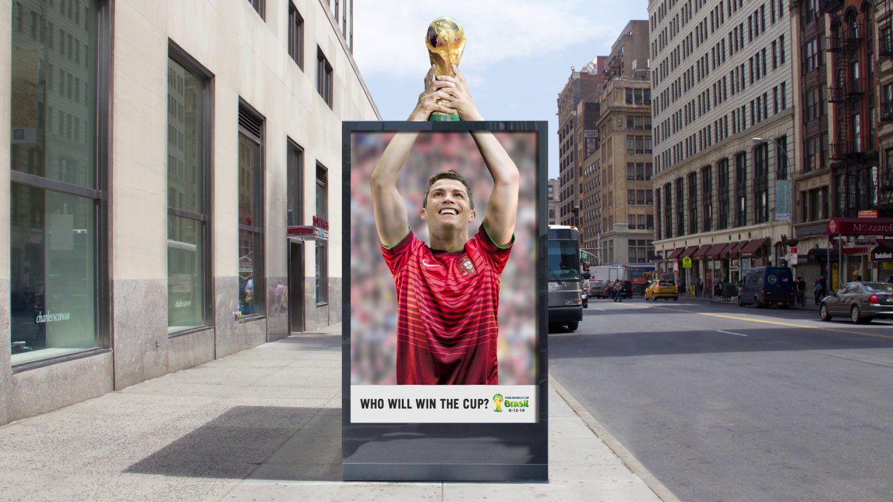 ¿les gusta esta publicidad de la Advertising school? #FIFAWorldCup2014