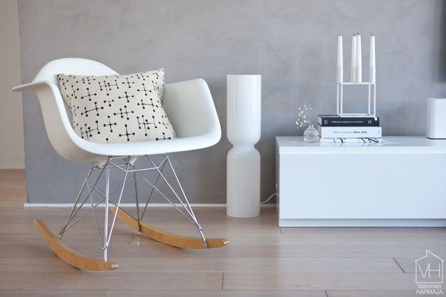 Eames-koristetyyny löysi kotiin