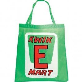 Una bolsa reutilizable y reciclable traída directamente desde el mítico Kwik-E-Mart, el badulake de Springfield regentado por Apu Nahasapeemapetilon.    Tu eliges; o usas vulgares bolsas de plás