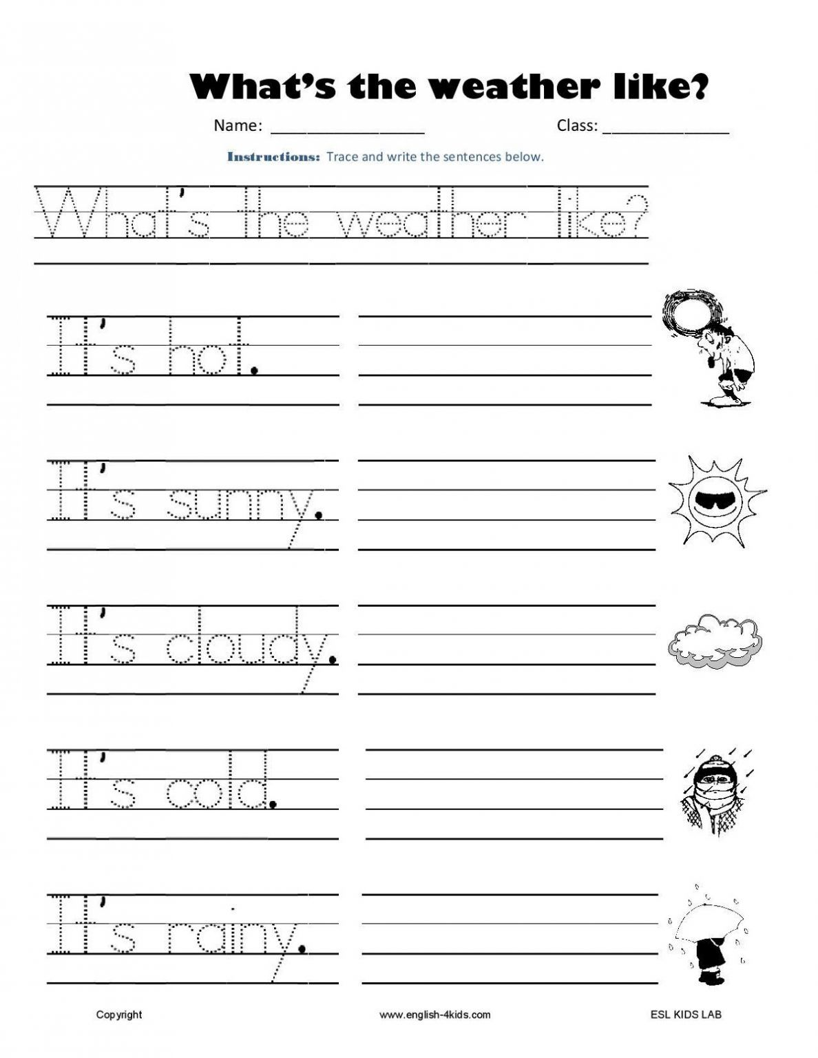 Free Printable Learning Worksheets For Kids