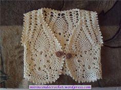 Chalequito/Bolero como lo quieras llamar…una belleza!!! | Mi Rincon de Crochet