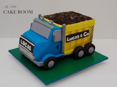 3d Dump Truck Cake Template