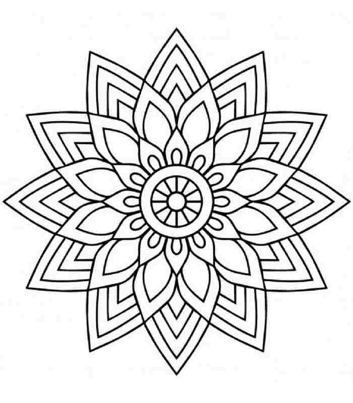 Pin By Matmazel Fener On Bordado Mandala Coloring Pages Mandala Coloring Mandala Design Art