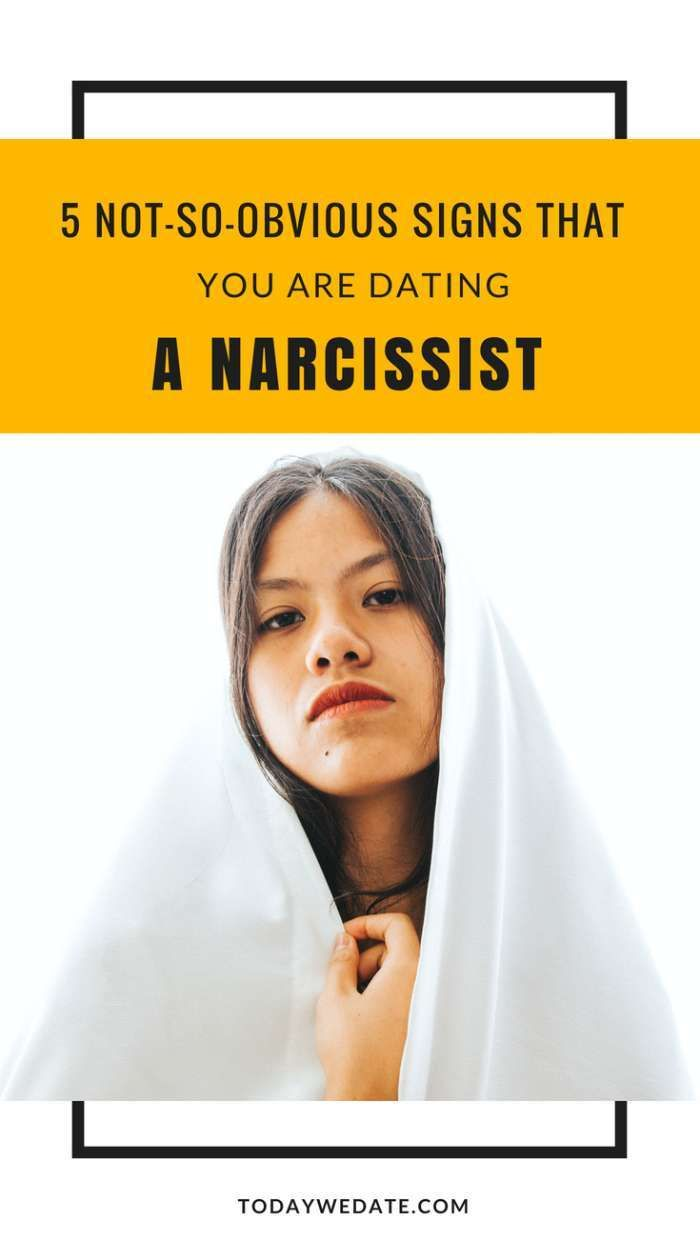How to spot a narcissist online dating