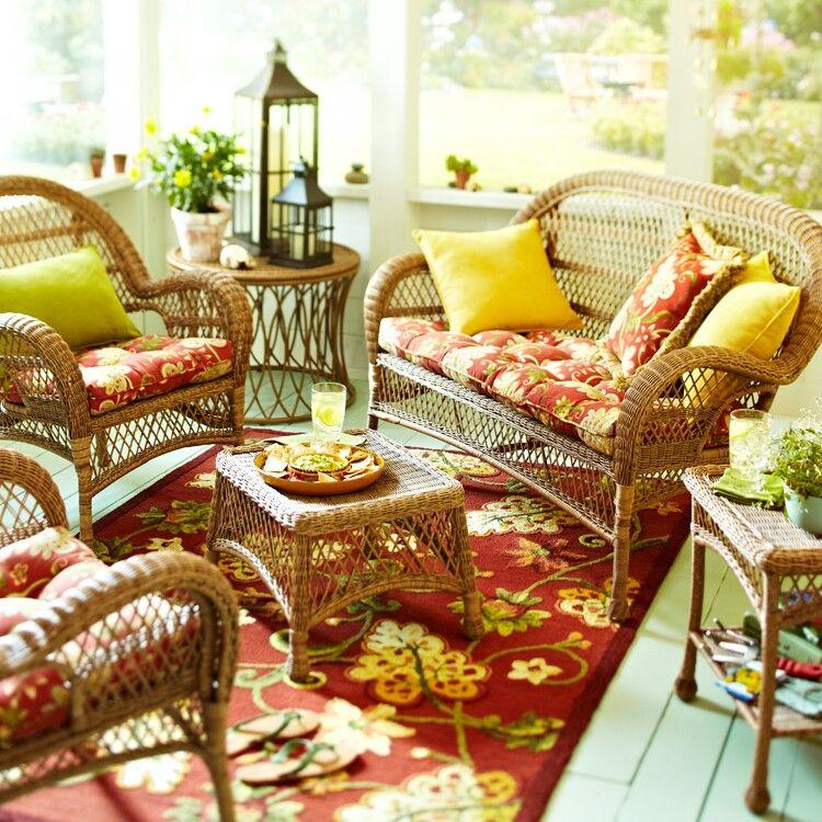 Pier 1 imports Outdoor furniture inspiration! | Indoor ...