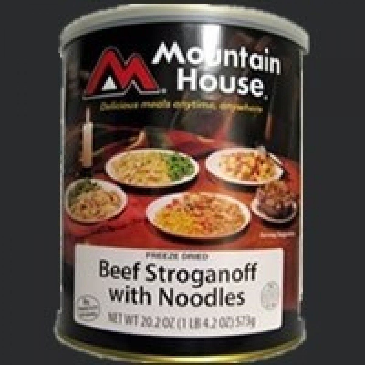 beef stroganoff with noodles  10 serving can with images
